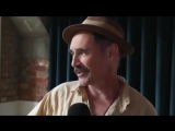 Mark Rylance talking about upcoming movie WaitingForTheBarbarians and Johnny Depp..mp4