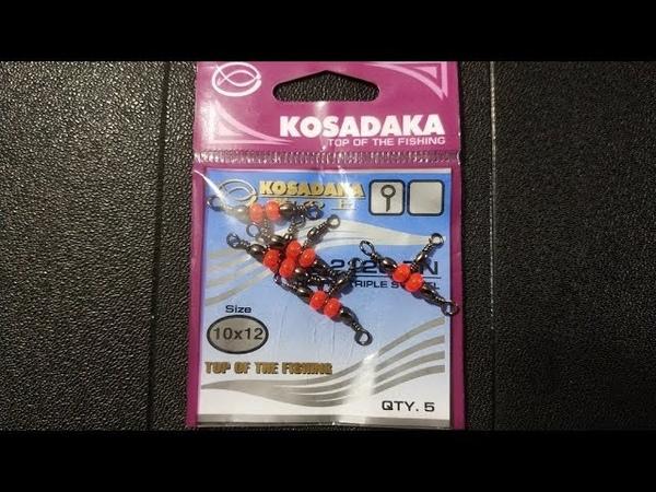 Видеообзор на Т-образный вертлюг от фирмы Kosadaka по заказу Fmagazin