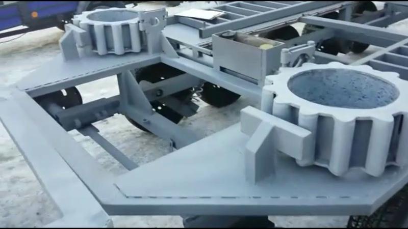 Гусеничные платформы ТСН 74 готовы к отгрузке 14.11.2018