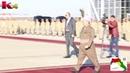 استقبال البارزاني للرئيس الفرنسي فرنسوا هولاند في مطار اربيل كوردستان العراق