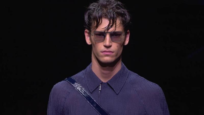 Emporio Armani Men's SS20 fashion show