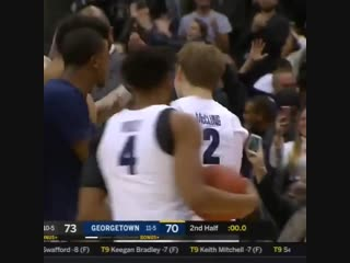 Mac McClung & James Akinjo delivered in the clutch 🔥 Hoyas win in 2OT!