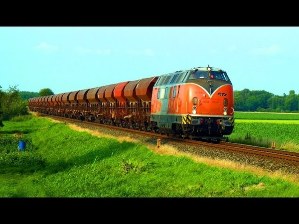 Gleisbau in Echem: V 200 auf dem Weg nach Lüneburg