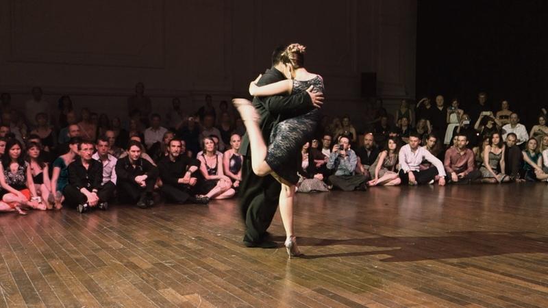 Tango: Noelia Hurtado y Carlitos Espinoza, 25/04/2015, Brussels Tango Festival 2/3