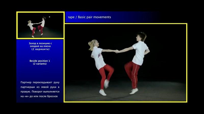 Акробатический рок-н-ролл / О базовых движениях в паре