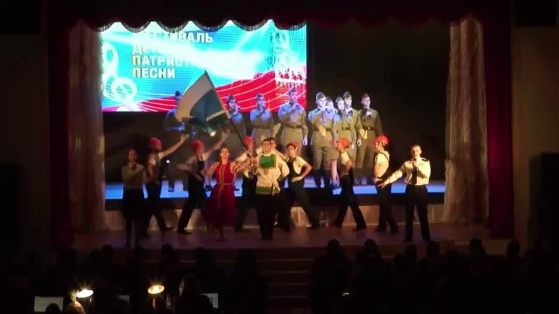 Визитка Екатеринбургского кадетского корпуса - Равнение на Победу - Пермь 2019