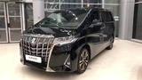 Обзор обновлённый Toyota Alphard уже в России 2018