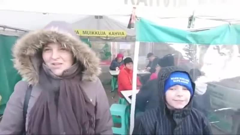 01.12.2018 Tikkurilassa SKE-teltalla. Demarit raivostuivat ja SKP pelästyi! - YouTube (360p)