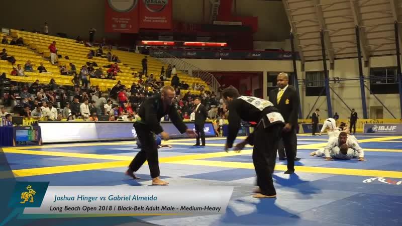 Joshua Hinger vs Gabriel Almeida Long Beach Open 2018
