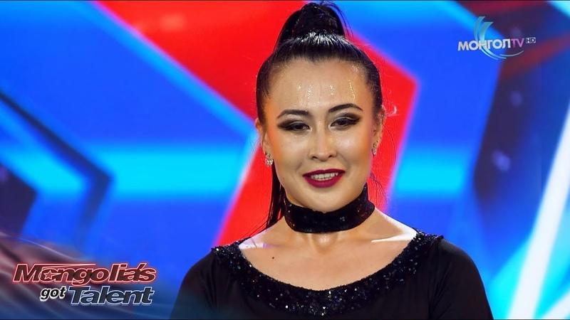 Екатерина Вахняк I Цагирагийн гайхамшиг I 1 р шат I Дугаар 4 I Mongolia's got talent 2018