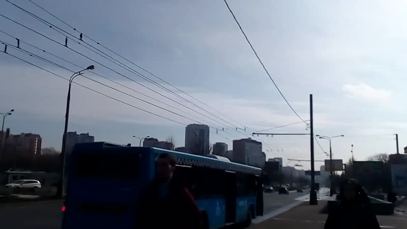 Москва 1 - станция метро селигерская район Дмитровское шоссе Ильменский проезд зимой днем