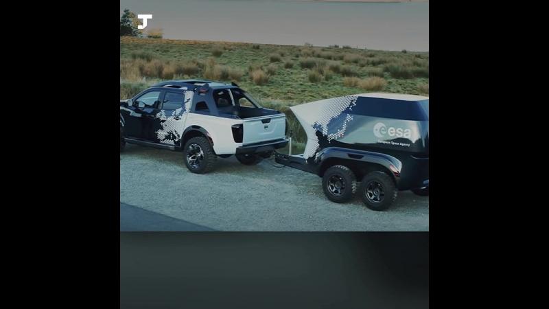 Nissan и Европейское космическое агентство создали обсерваторию на колёсах
