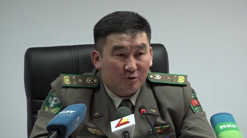 Киргизские пограничники подвели итоги