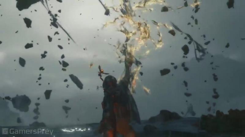Death Stranding Человек в золотой маске свежий трейлер с Tokyo Game Show 2018