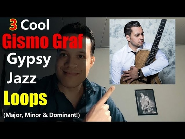 Learn these 3 Gismo Graf gypsy jazz loops and be the coolest cat at any jam