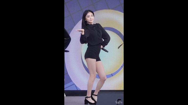 [FANCAM] 181116 SONAMOO (Nahyun focus) - I Like U Too Much @ Big Bird Festival