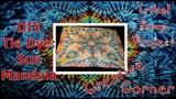 TSP Creative Corner How to Tie Dye a Sun Mandala