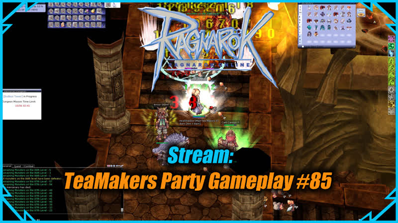 Cтрим - Ragnarok online: TeaMakers Party Gameplay 85