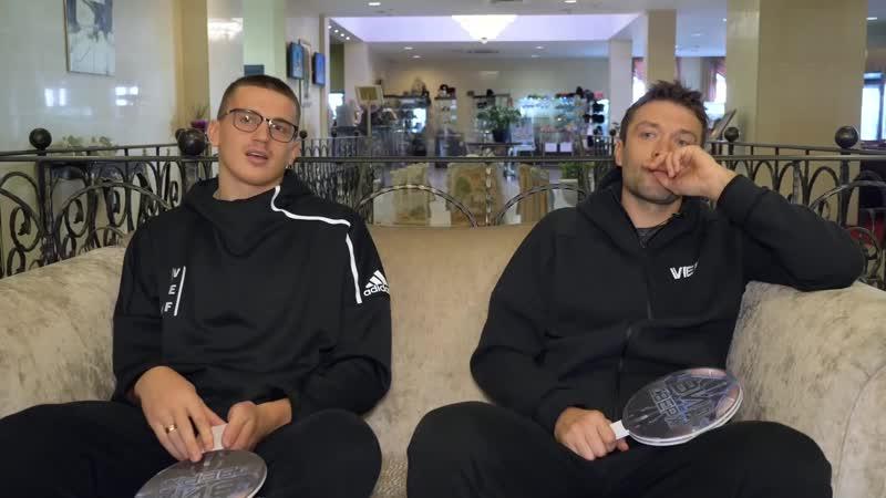 Андрейс Гражулис и Кристапс Яниченокс в выпуске Вида сверху
