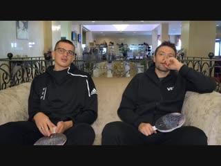Андрейс Гражулис и Кристапс Яниченокс в выпуске