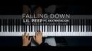 Lil Peep ft. XXXTENTACION - Falling Down The Theorist Piano Cover