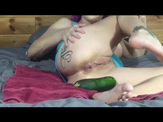 LilySkye toe sucking and anal footing Double Anal Pussy Fisting Dildo Prolapse Blowjob Outdoor Huge Dildo Gape