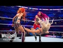 FULL MATCH - Charlotte Flair vs. Sasha Banks vs. Becky Lynch - Women's Title Match: WrestleMania 32