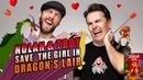 Nolan North and Troy Baker Save the Girl in Dragon's Lair