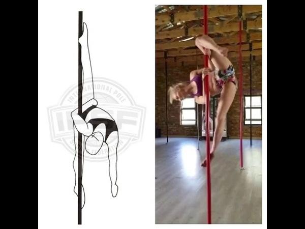 SP36 ELBOW GRIP VERTICAL SPLIT 0.9 by Benita Bouwer pole sports tutorial