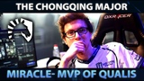 Miracle- MVP of Qualifiers on Chongqing Major - Player Perspective Best Plays - Dota 2