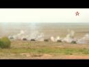 Тактику танковой карусели под прикрытием Су34 и Ми8 отработали на полигоне Мулино
