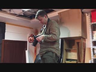 Бекстейдж с фотосъёмки лопаты finland