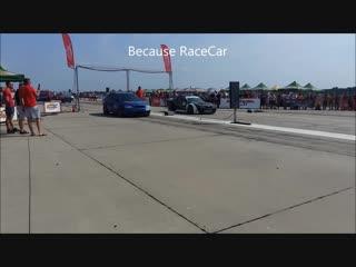 Brutal Skoda Octavia Bimoto AWD 1000 Hp vs Nissan PS13 700 Hp - Drag Race Arad 1