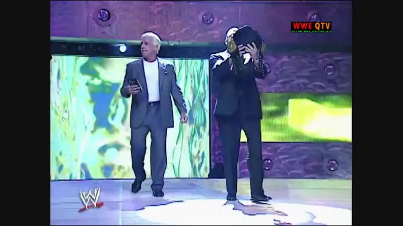 [WWE QTV]☆[WWE RAW[Фоменко]21.10.2002]Трипл Ейч про Кейна]