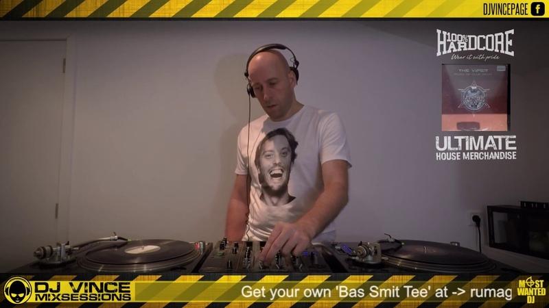 DJ VINCE MIXSESSIONS 20-08-2018 Millennium Hardcore Again