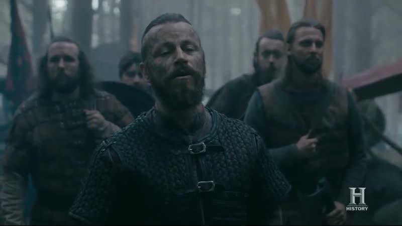 Песня Викингов перед боем - Конунг Харальд и Хальвдан