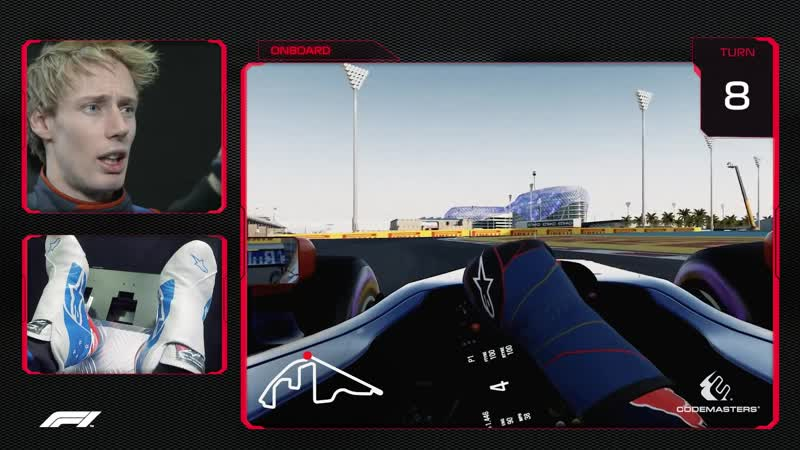 Brendon Hartley's Virtual Hot Lap of Yas Marina   2018 Abu Dhabi Grand Prix