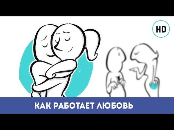 Как живет любовь Гениальный мультфильм про любовь онлайн How does love works