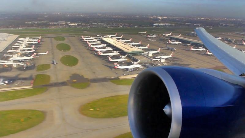 British Airways Boeing 777-300ER GE-90 Amazing Engine Startup and Takeoff Spool (BA 283 G-STBE)