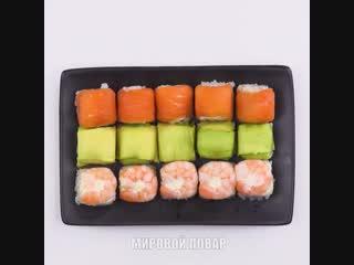 Суши в кубиках для льда!