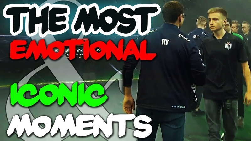 Most Emotional Iconic Moments of The International 2018 - Dota 2 TI8