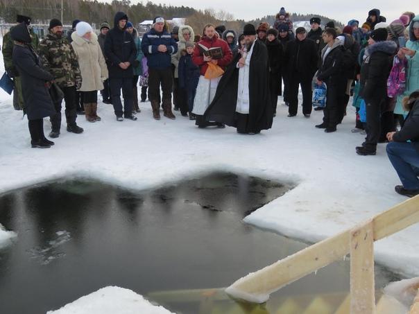 Крещение Господне в Усть-Илимске