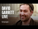 David Garrett on tour: Rock and classical music are quite similar, It's alla about hard work