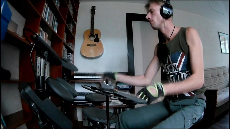 Mezzoforte - Four Corners /Drum Cover/