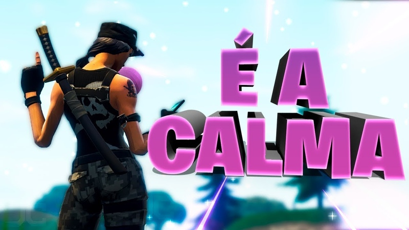 O SEGREDO É MANTER A CALMA - FORTNITE