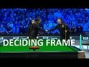 DECIDER Frame Ronnie O'Sullivan v Kyren Wilson Champion of Champions 2018