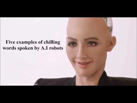 Five' Chilling predictions of the future from A.I robots caught on film (Disclose Screen)