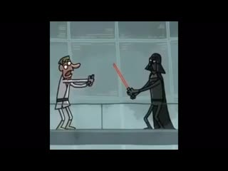 Star wars cartoon - lightsaber vibrator