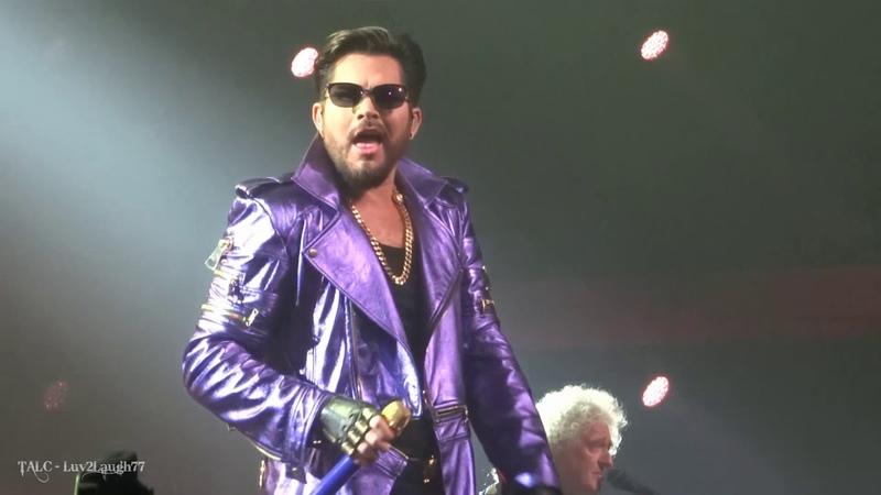 Q ueen Adam Lambert - Tie Your M other Down - Park Theater - Las Vegas - 9.21.18
