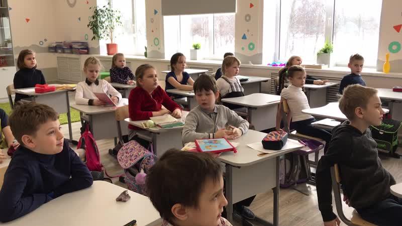 Урок математики во 2 классе. Учимся умножать круглые двузначные и трехзначные числа.